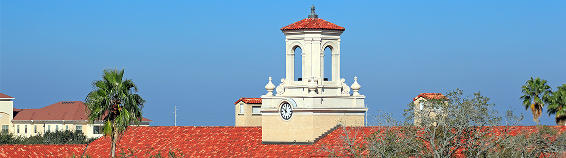Texas A&M University Kingsville clock tower